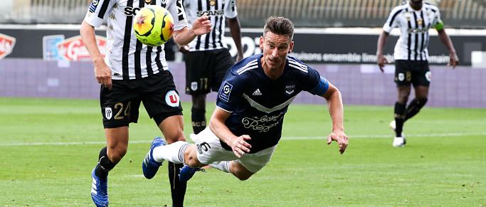 Les Girondins de Bordeaux en difficulté à domicile