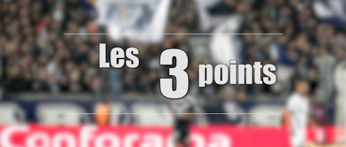 Les 3 points des Girondins après l'élimination