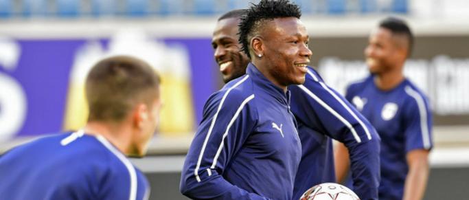 Samuel Kalu de retour à l'entraînement