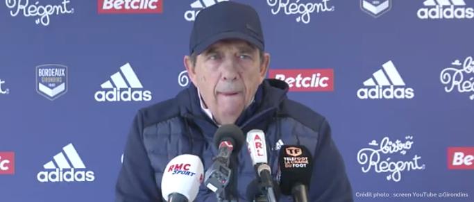 """Jean-Louis Gasset : """"Comme je vous l'ai toujours dit, ce groupe est déséquilibré"""""""