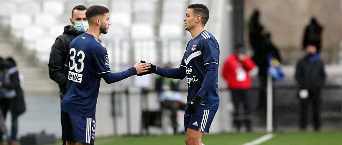 Les Girondins menés 1-0 face à Toulouse