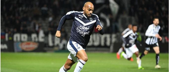 Jimmy Briand attaquant de Ligue 1 qui presse le plus