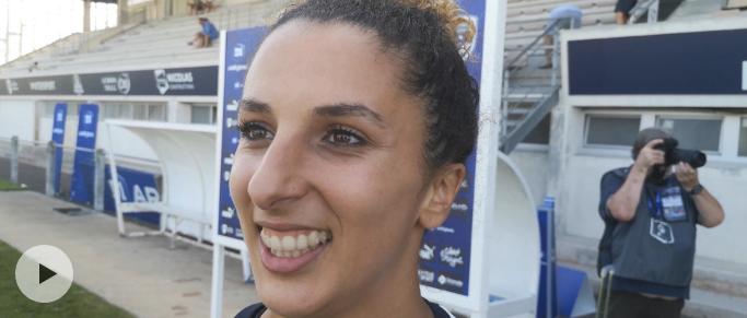"""Ghoutia Karchouni : """"c'est super de commencer par une victoire !"""""""