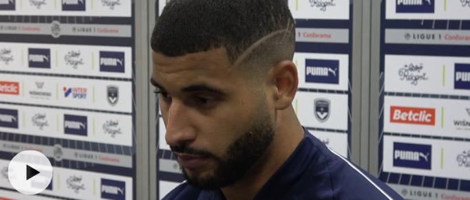 """Youssef Aït-Bennasser : """"Je me sens bien. J'ai tout donné pour montrer au coach et au groupe"""""""