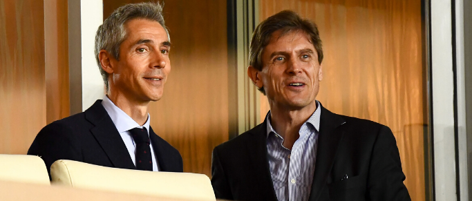 Une rencontre entre Paulo Sousa et Frédéric Longuépée en cours