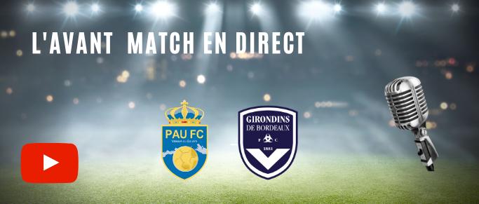[Direct] Suivez l'avant match Pau - Bordeaux