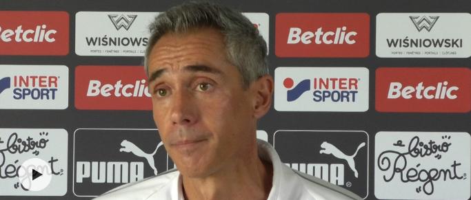 Paulo Sousa explique pourquoi deux joueurs ont eu des crampes