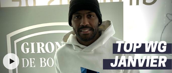 Top WG : Jimmy Briand joueur du mois janvier !