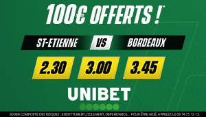 Unibet Saint-Etienne Bordeaux